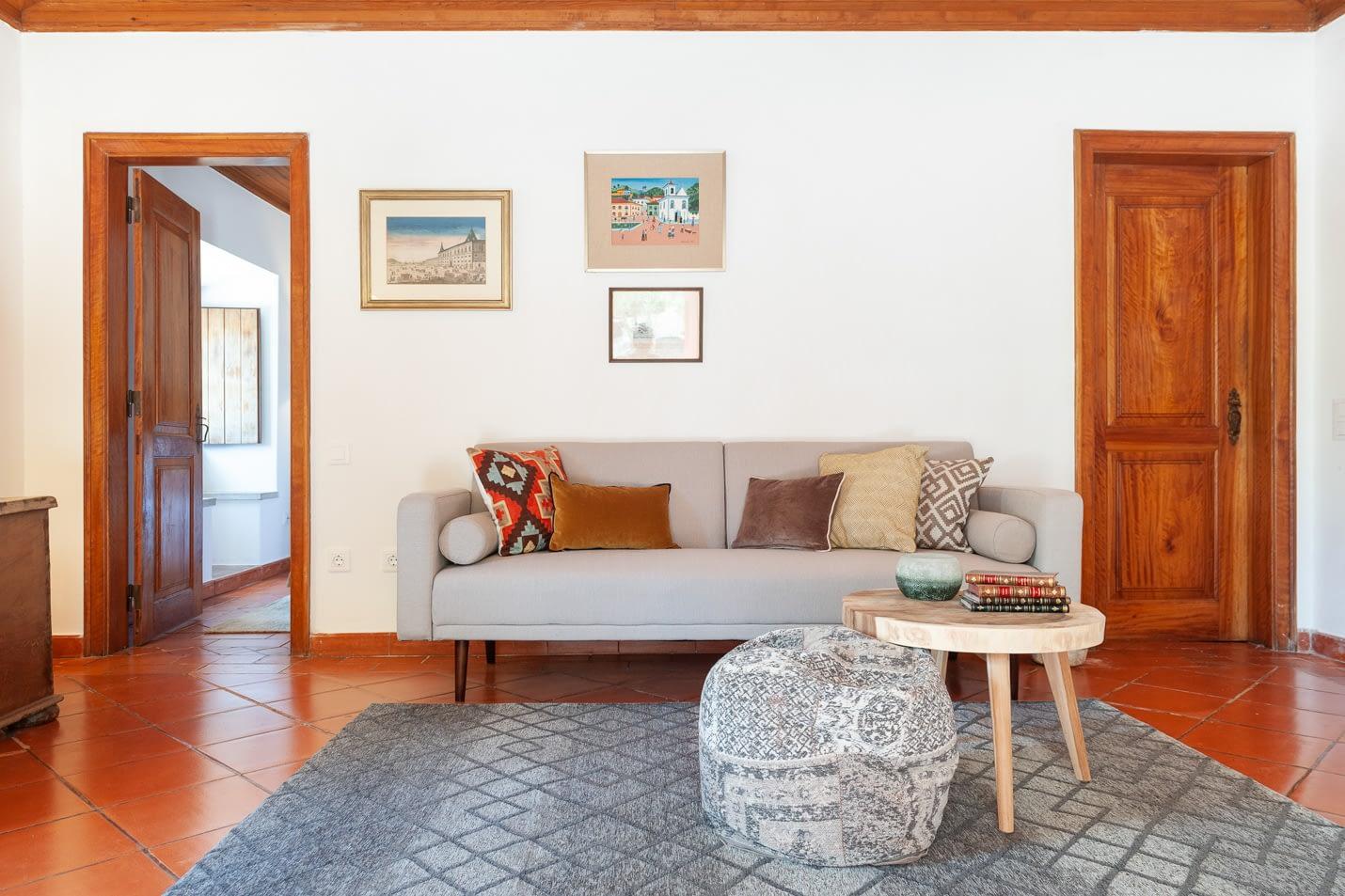Quinta da Arrábida · The Pine Tree House living room